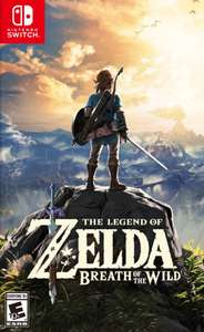 The Legend of Zelda: Breath of the Wild (North America key)