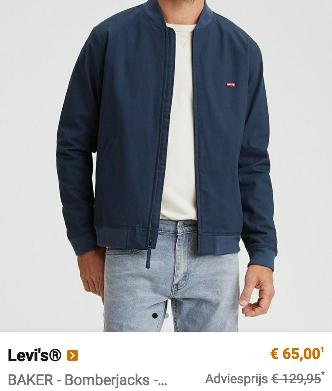 Hoge korting op Levi's kleding voor mannen/vrouwen en kids. + De originele 501