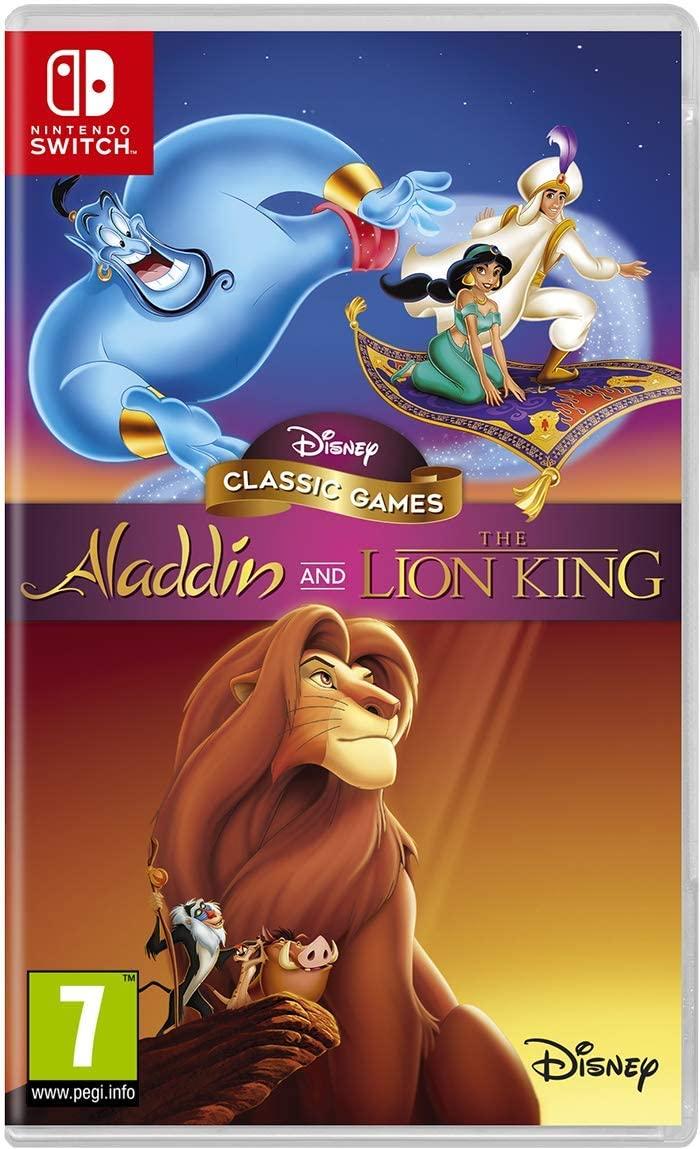 Disney Classic Games: Aladdin and The Lion King (Nintendo Switch) @Amazon UK