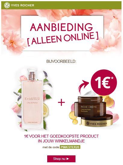 Goedkoopste product voor €1 + Gratis vrrassingscadeau of mascara