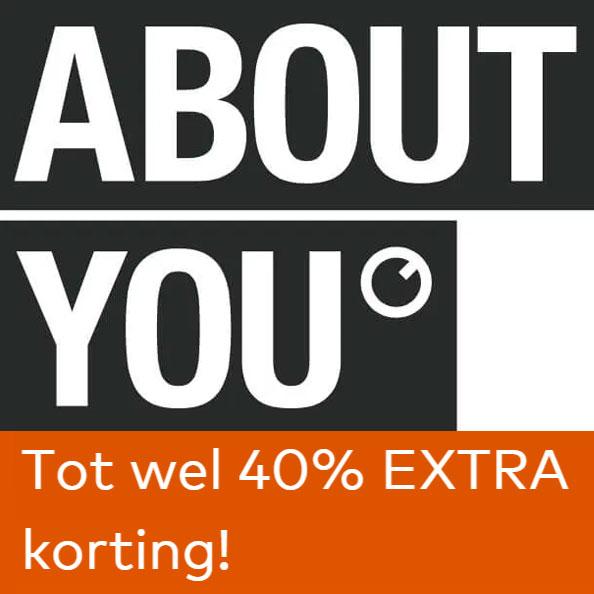 ACTIE: tot 40% EXTRA korting + 10% EXTRA met code @ About You