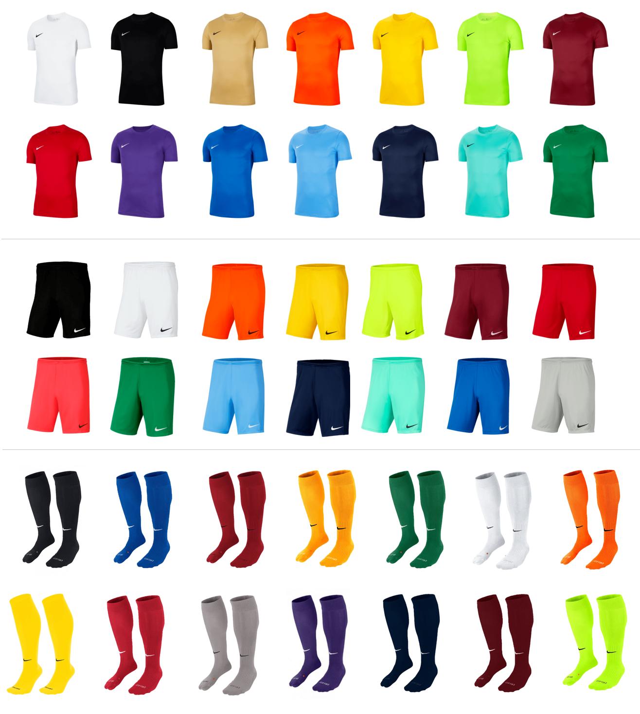 Nike tenue Park VII t-shirt, broekje en sokken voor €29,95 @ Geomix
