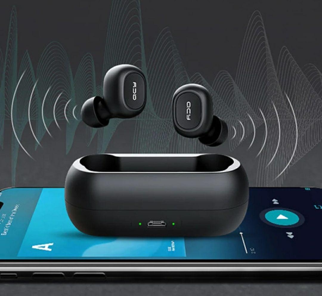 QCY QS1 5.0 Bluetooth draadloze oordopjes