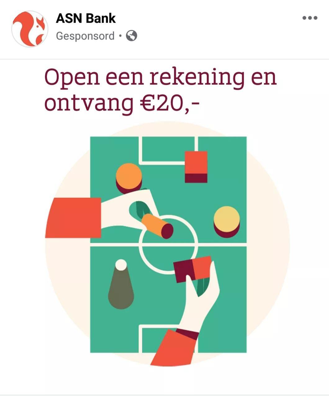 [Gratis geld] €20 cadeau bij openen ASN Beleggingsrekening of ASN Doelbeleggen (minimaal €20 inleg)