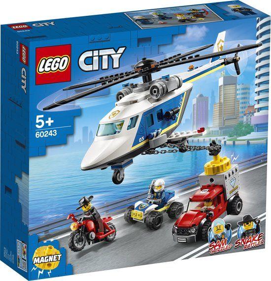 Lego City - 60243 - Politiehelikopter achtervolging