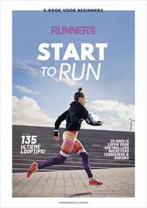 GRATIS Start to Run e-book met tips, trainingsschema's en meer!
