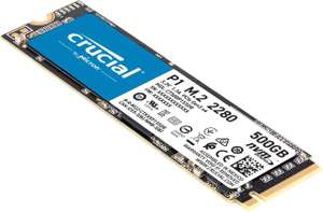 Crucial P1 CT 500GB NVMe M.2 SSD voor slechts 63,96