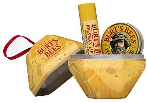 cadeauset Burt's Bees A Bit Set van 2 stuks - 100% natuurlijke bijenwas lippenbalsem met vitamine E en pepermunt, 65 g