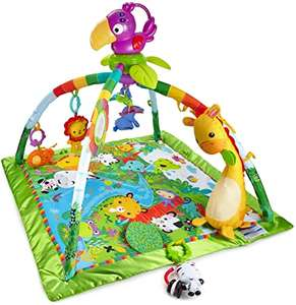 Fisher-Price RainForest Baby Gym Regenwoud muziek & lichtjes