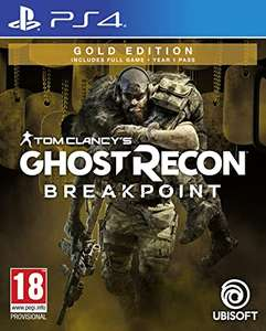 Ghost Recon Breakpoint: Gold Edition PS4