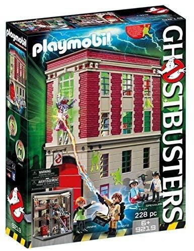 Playmobil Ghostbusters Brandweerkazerne 9219 €47,19 bij Amazon.nl