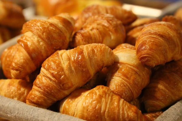5 Roomboter croissants voor 1 euro
