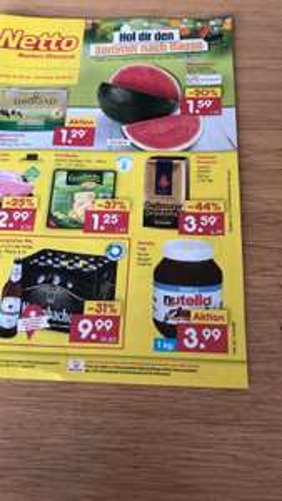 [Grensdeal] Nutella €3.99 /kg