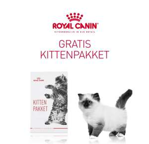 Gratis Royal Canin Puppy of Kitten proefpakket