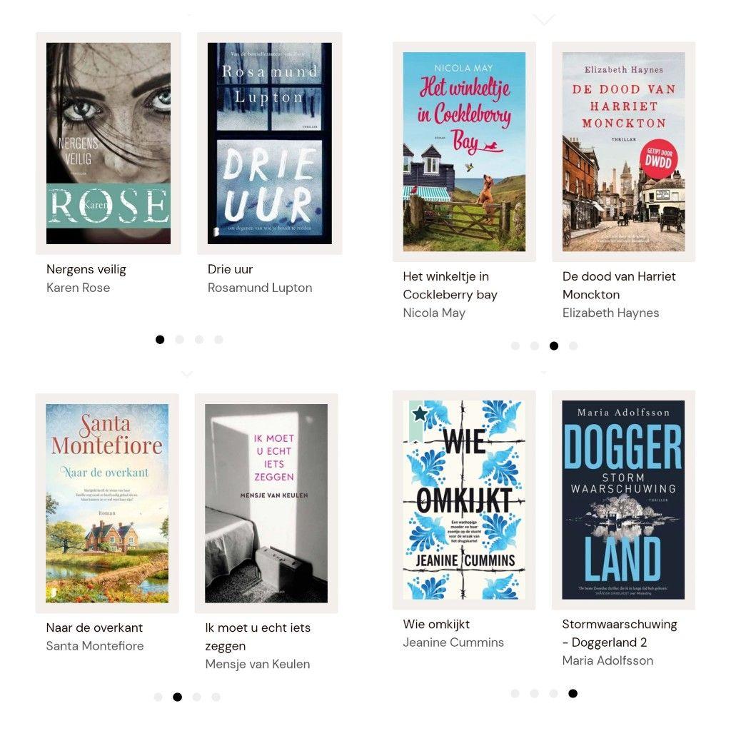 8 boeken van Bookchoice maand juni gratis.