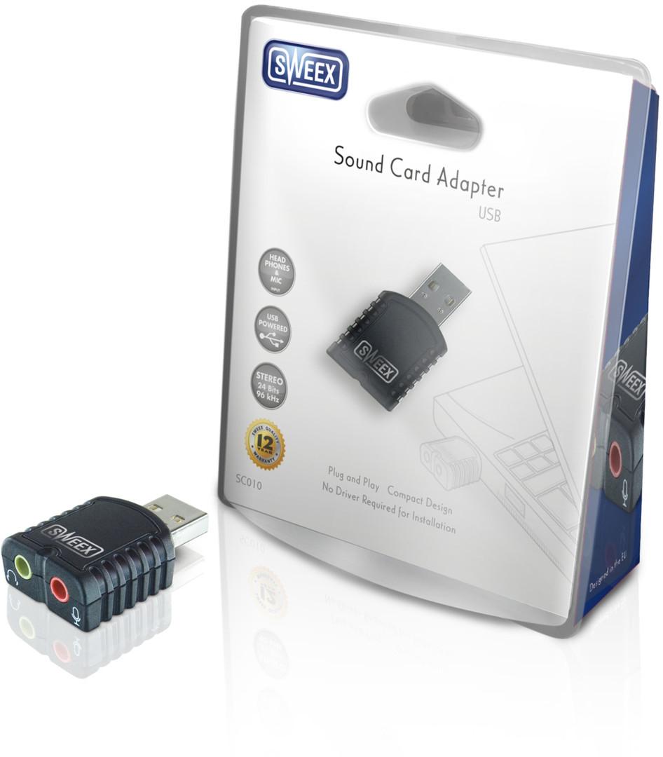 Sweex USB Sound Card Adapter V2 @ Bol.com