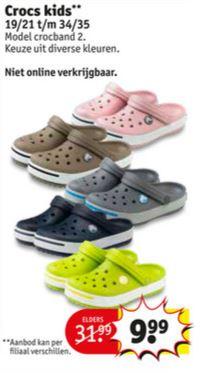 Kids Crocs Crocband 2 @ Kruidvat