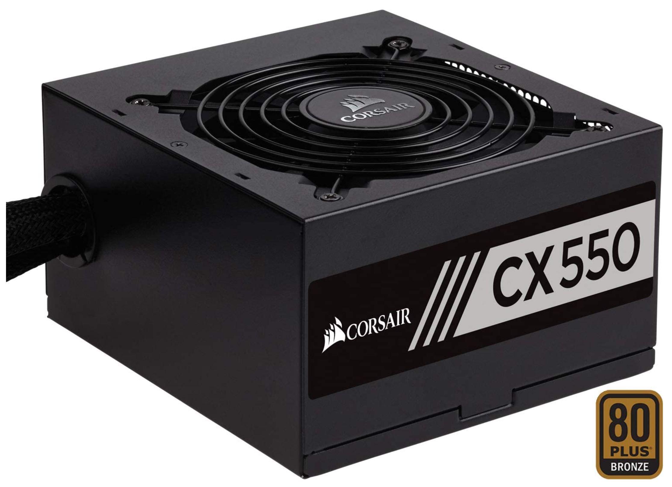 Corsair CX550 | 80 Plus Brons | 550 Watt voeding