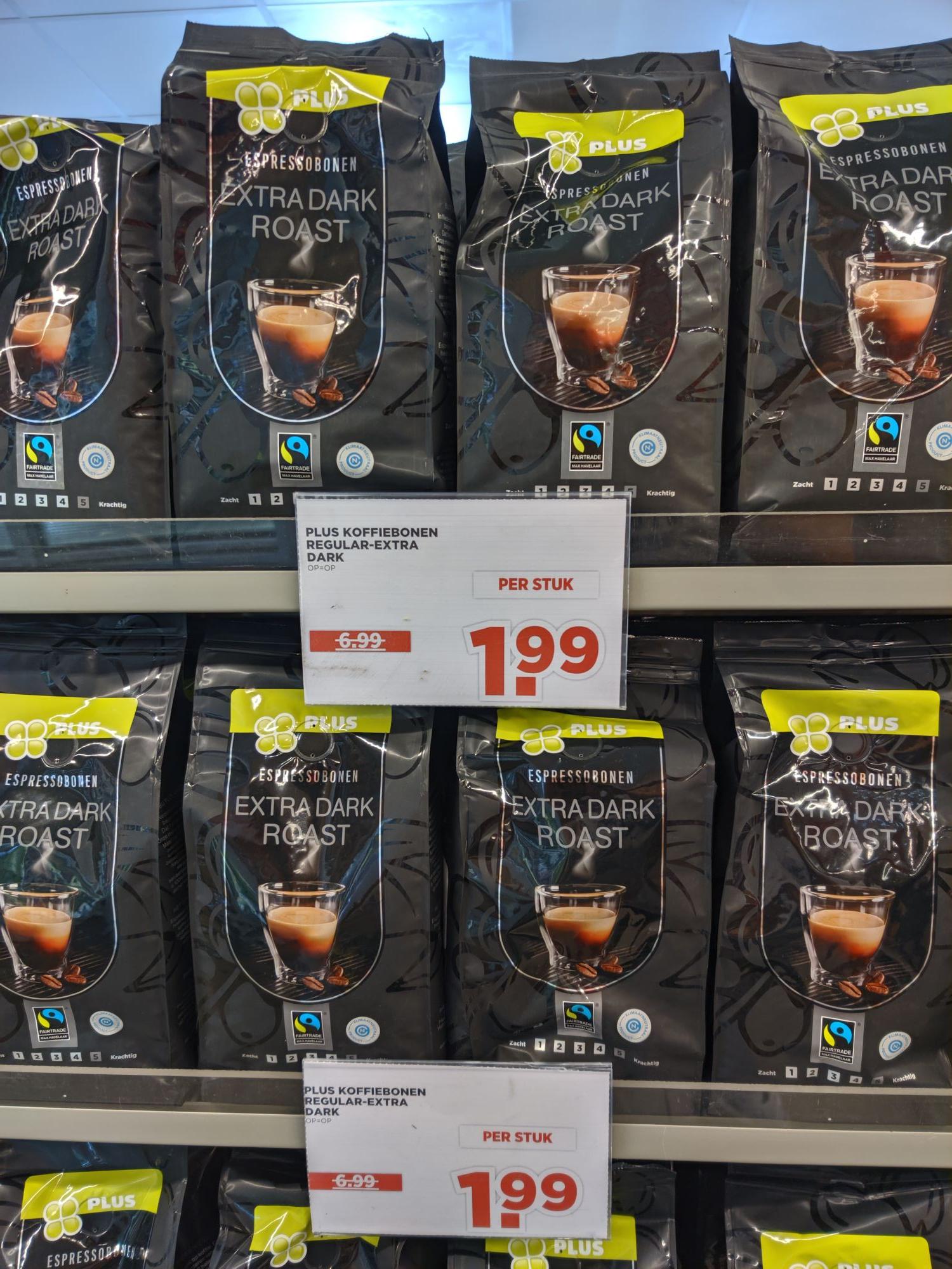 [LOKAAL BOCHOLTZ] Plus koffiebonen fairtrade en 100 procent arrabica.