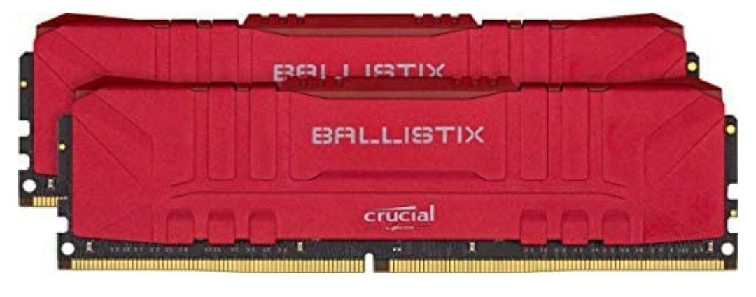 Crucial Ballistix- 32GB- 3200MHz (2x16GB)