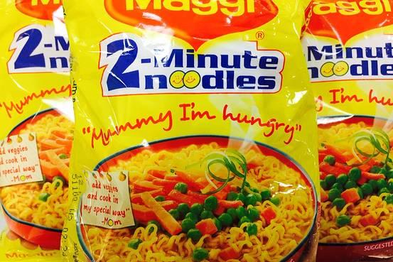 Gratis Maggi noodles probeerverpakking