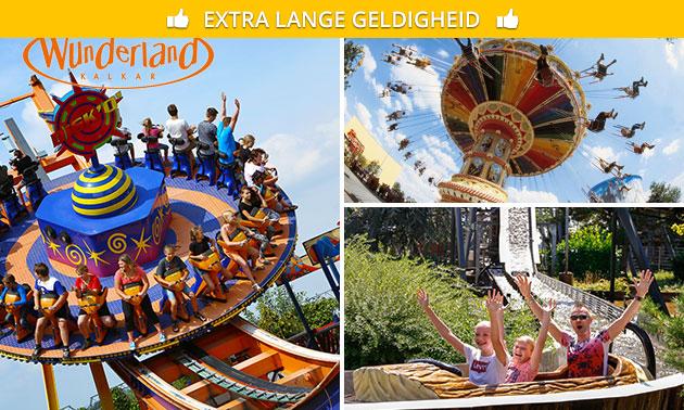 Wunderland Kalkar All inclusive voor 21,95