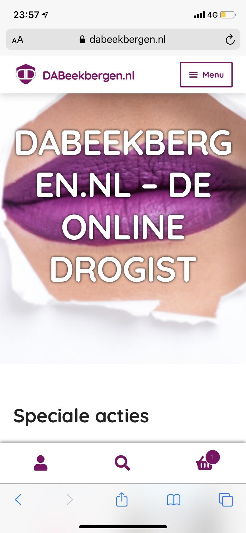 Vogue deodorant 150 ml / douchegel 200 ml