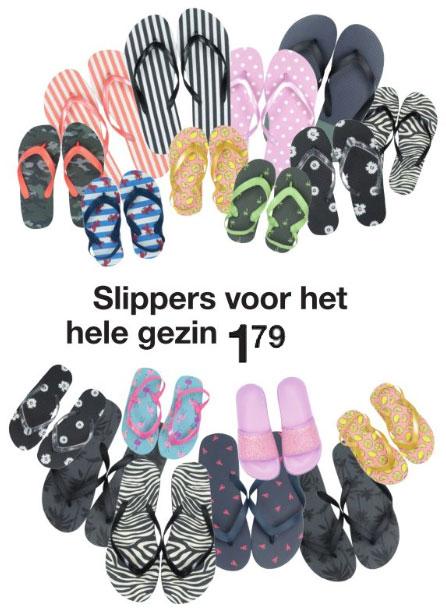 Slippers - dames / heren / kids / baby's - @ ZEEMAN
