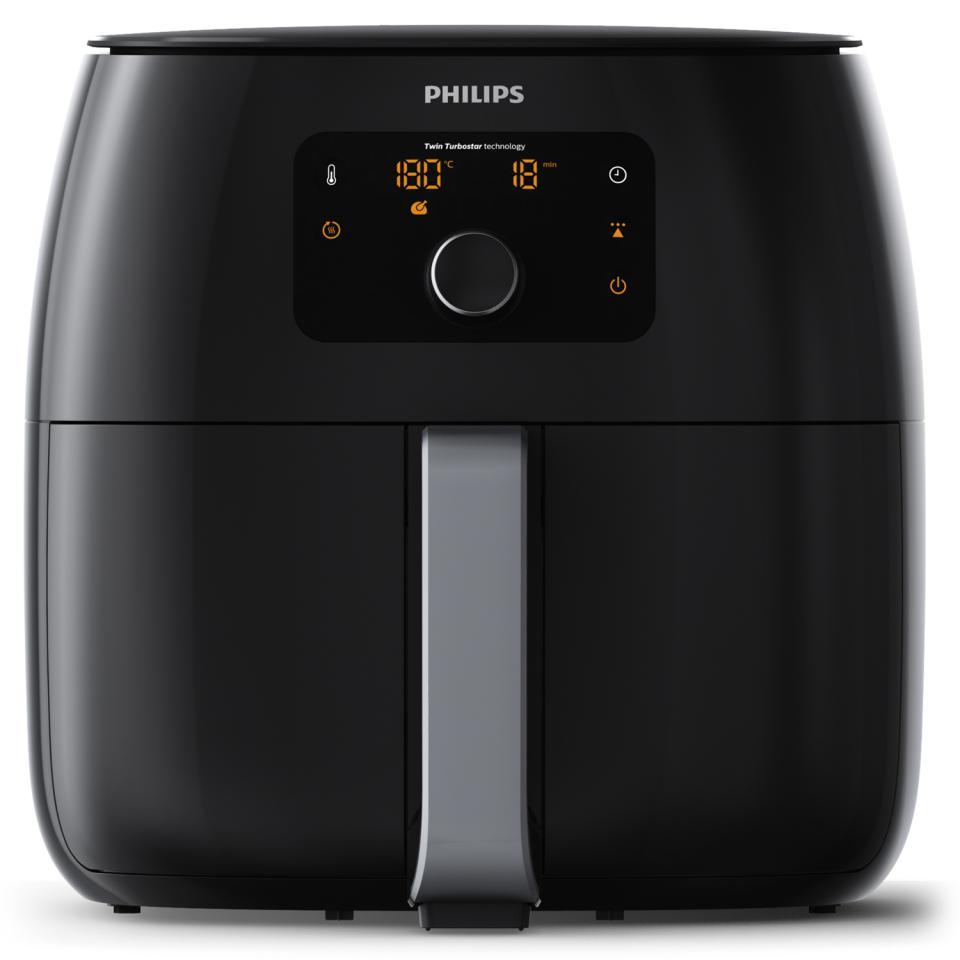 XXL Philips Airfryer Premium + gratis BBQ