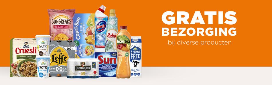 Gratis bezorging t.w.v. €6 bij aanschaf van diverse producten @ Plus