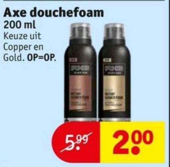 [LOKAAL] Axe shower foam voor 50cent @ prijsmepper [vlissingen]
