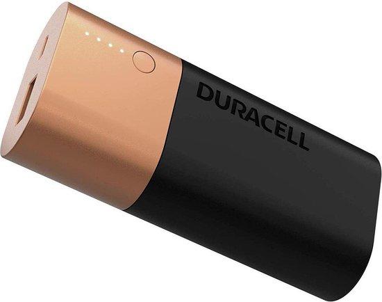 Duracell Powerbank - 6.700 mAh - Zwart/Goud