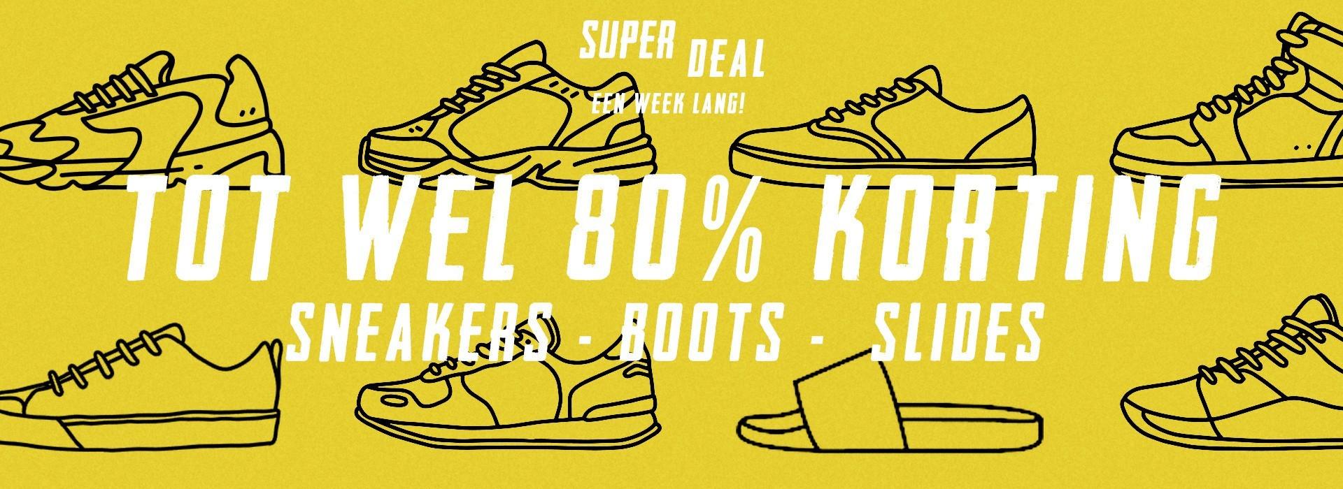 Go-Britain.nl sneakers tot 80% korting