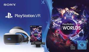 PlayStation 4 Virtual Reality V2 + Camera + VR Worlds Voucher