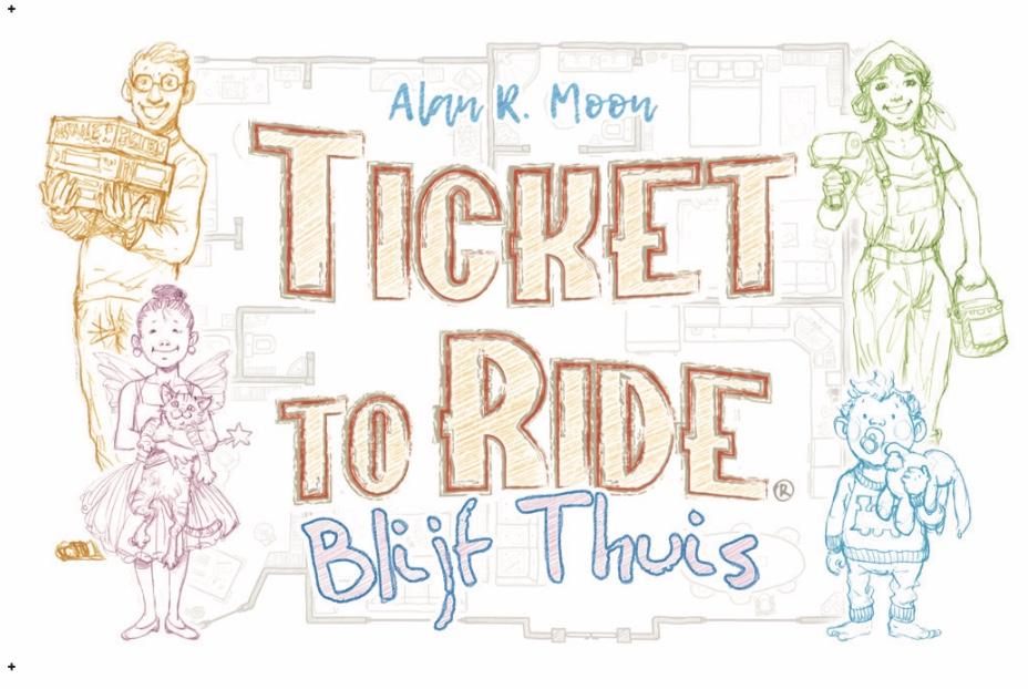 "Gratis versie spel ticket to ride! ""Stay at home edition"" - basisspel nodig"
