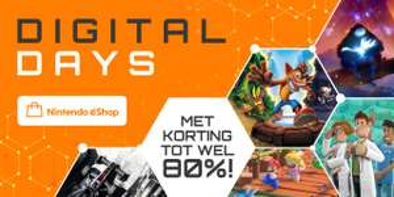 (Nintendo Switch Games) Digital Days Eshop met korting tot wel 80%