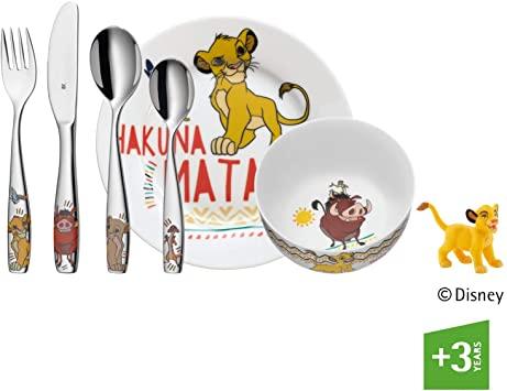WMF Disney Lion King Kinderservies 6-delig @Amazon