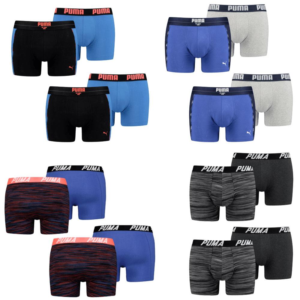 12x Puma boxershorts [keuze uit 4 sets] @ Geomix