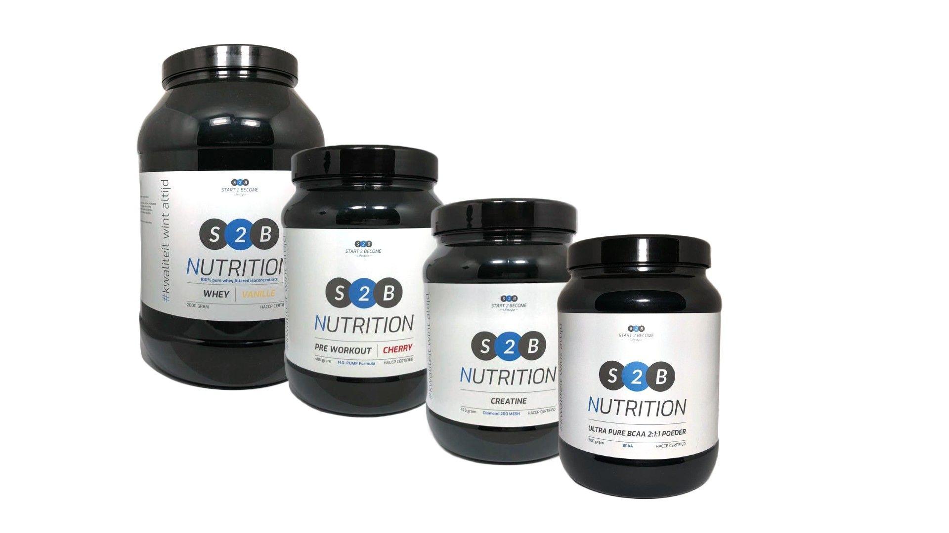 10% korting op supplementen en sportvoeding