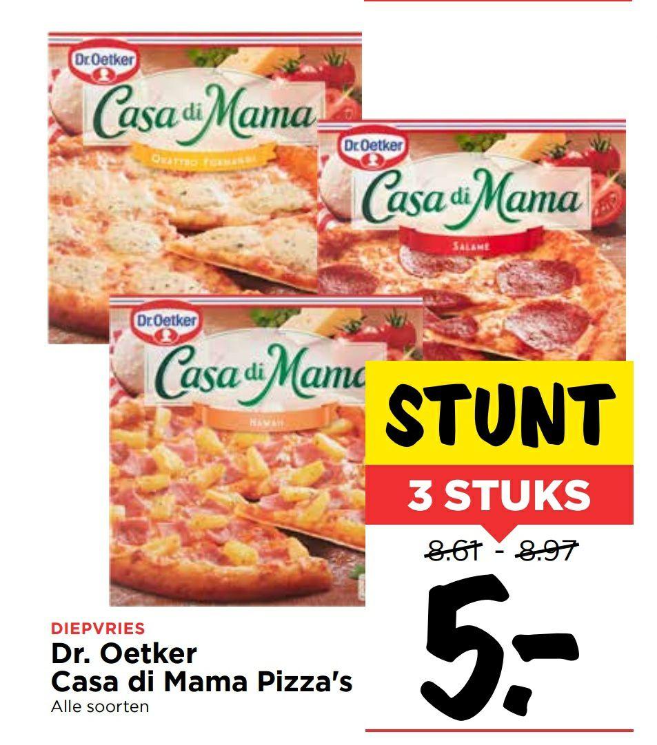 Cass di Mama 3 pizza 5 euro @Vomar