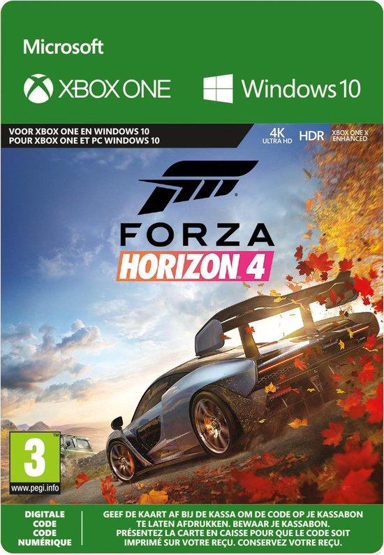 forza horizon 4 voor pc (ook deluxe/ultimate)