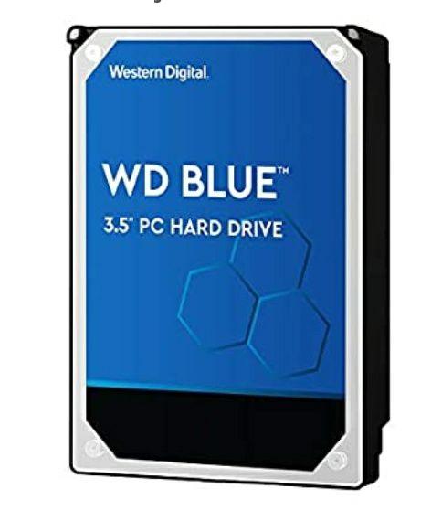 WD Blue 3,5 4TB (2x2TB)