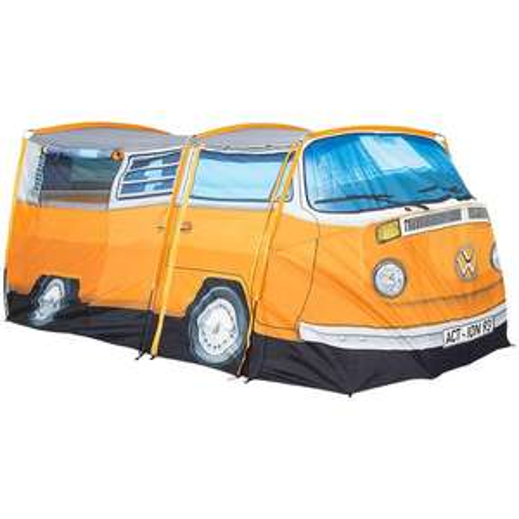 Tent met de afbeelding van een VW bus-3 pers. @Action