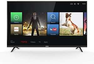 TCL 43DP602 TV 108 cm (43 inch) Smart TV, 4K, HDR, Triple Tuner, Alexa compatibel, Micro Dimming, T-Cast [Energieklasse A+]