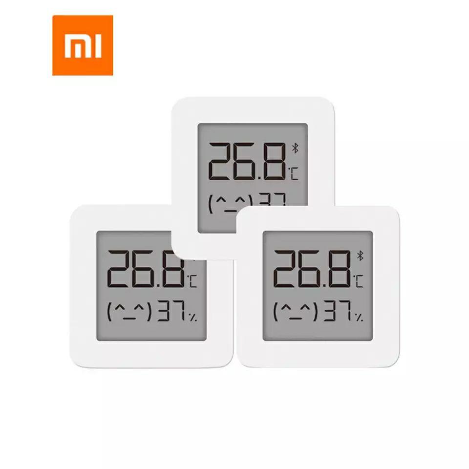 3 stuks XIAOMI Mijia Bluetooth Thermometer 2 Draadloze Smart Elektrische Digitale Hygrometer Thermometer