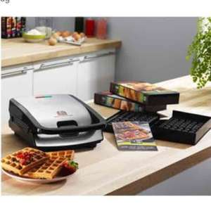 Tefal Snack collection SW854D voor €69,- @ Maxwell