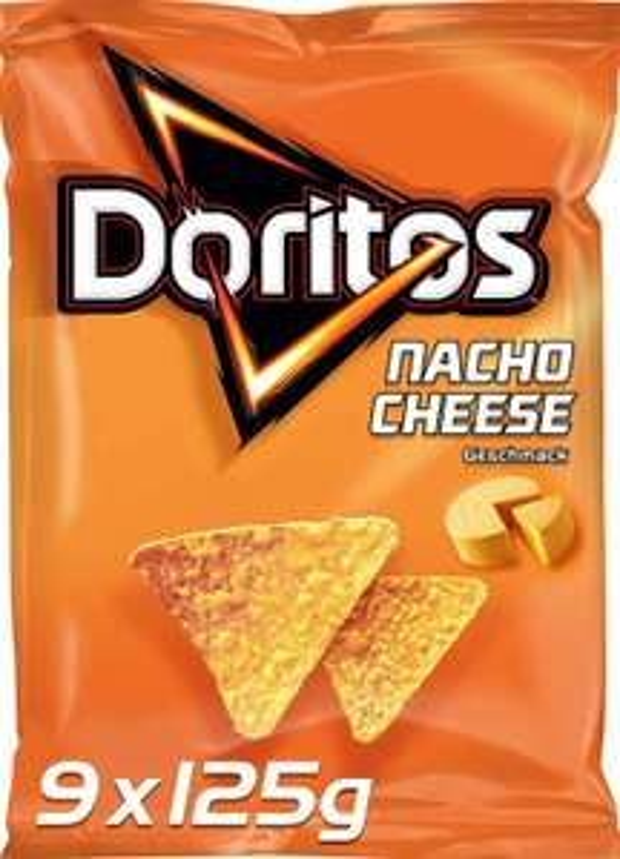 Doritos chips 9 x 125g