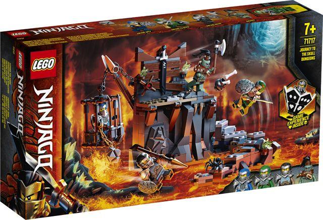 Lego Ninjago - 71717 - Reis naar de kerkers van skull