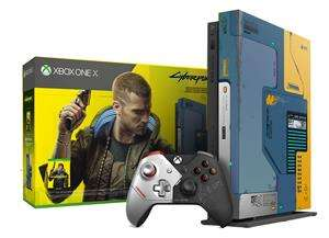 Xbox One X Cyberpunk 2077 Limited Edition