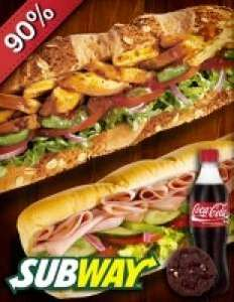 Premium Sub menu voor €1 bij Subway Roosendaal @ SocialDeal